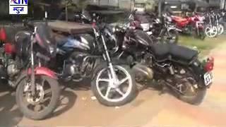 Aurangabad : विनापासिंग आणि फान्सी नंबर प्लेट्स असलेल्या ९३४ दुचाकी जप्त