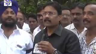 Aurangabad : बांधकाम व्यावसायिक सुरज परमार यांच्या आत्महत्या निषेधार्थ क्रेडार्इचा मोर्चा