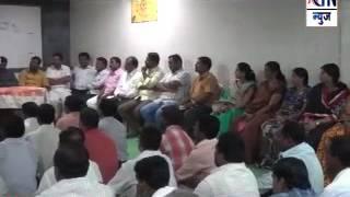Aurangabad : ग्रामपंचायत निवडणुकी संदर्भात शिवसेनेतर्फे घेतली बैठक