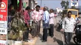 Aurangabad : MIDC प्रशासनाने बजाजनगरात मार्किग करून हटवले अतिक्रमण