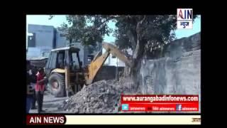 Aurangabad : अखेर बायजीपुरा परिसरातील अतिक्रमण हटवले