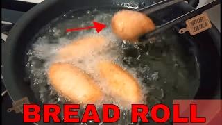 BREAD ROLL RECIPE !! STUFFED BREAD ROLL!! ब्रेड रोल बनाने का सबसे आसान तरीका