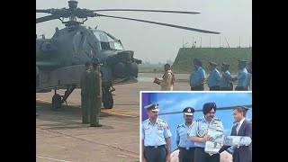 Watch: IAF inducts 8 US made Apache attack helicopters