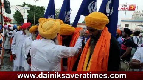 Sangat ने Guru Nanak Dev Ji के 550वें Prakash Parv को समर्पित सजाया विशाल Nagar Kirtan