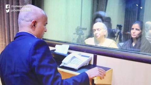 विदेश मंत्रालय : मुलाकात के समय काफी दबाव में थे कुलभूषण जाधव