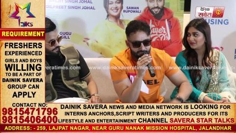 Sippy Gill ਤੇ Dilpreet Dhillon , Jaddi Sardaar ਦੀ Promotion ਲਈ ਪਹੁੰਚੇ Zirakpur | Dainik Savera