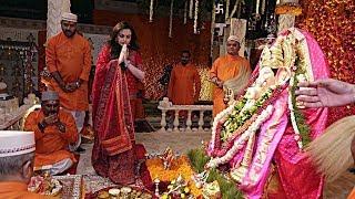 Nita Ambani leads Ganesh Chaturthi 'aarti' with son Anant; Bachchans, Jeetendra in attendance