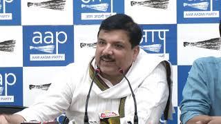 BJP In Delhi is Against the Betterment of Aam Aadmis Benefit says AAP RS Member Sanjay Singh