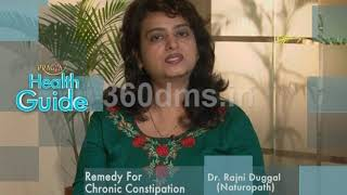 Watch Home Remedy Treatment for Chronic Constipation