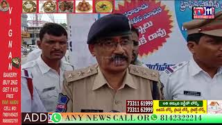 TRAFFIC RULES AWARENESS PROGRAM BY TRAFFIC ACP SRINIVAS AT SULTAN BAZAR | HYDERABAD | TS
