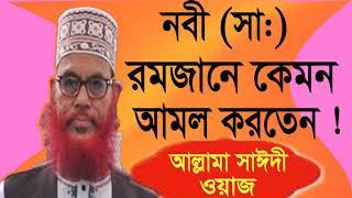 Allama Saidy New Bangla Waz | Bangla Best Waz Mahfil 2019 | Saidy Bangla Waz | Bangla Waz mahfil
