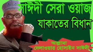Allama Saidy New Bangla Waz Mahfil | Bangla Waz 2019 | Islamic Waz Mahfil Bangla  | Saidy Bangla Waz