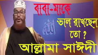 Allama Saidy Best Bangla Waz Mahfil | Islamic BD | Bangla Waz Mahfil 2019 | Best Bangla Waz