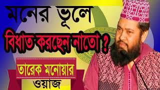 Best Bangla Waz 2019 | Tarek Monowar New Bangla Waz | বিধাত কি এবং কিভাবে বুজবেন । Bangla New Waz