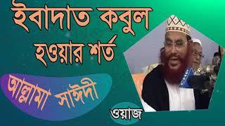 Waz Mahfil Allama Saidy | Bangla Best Waz Allama Delwar Hossain Saidy | Waz Mahfil Bangla