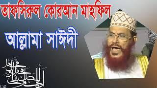 Allama Delwar Hossain Saidy Waz । আল্লামা সাঈদী তাফসিরুল কোরআন মাহফিল । Islamic BD Bangla Waz