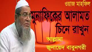 Bangla New Best Waz By Junaed Babunogory । বাংলা ইসলামিক ওয়াজ আল্লামা জুনায়েদ বাবুনগরী । Islamic BD