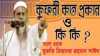 Mizanur Rahman Bangla Waz Mahfil 2019 | Best bangla Waz | Bangla Waz Mizanur Saidy |  Islamic BD