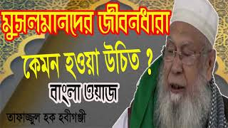 মুসলমানদের জীবনধারা কেমন হওয়া উচিত ? Bangla Waz 2019 | Tafajjul Hoque Bangla Waz Mahfil | Islamic BD