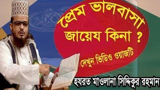 প্রেম ভালবাসা কি ইসলামে জায়েয আছে ? শুনুন বাংলা ওয়াজ মাহফিল । Bangla Best Waz 2019   Islamic BD