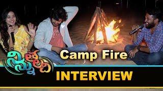 Camp Fire Interview With Ninnu Thalachi Movie Team | Vamsi | Stefy Patel | Bhavani HD Movies