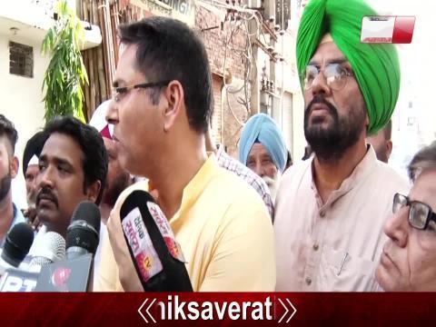 Batala पहुंचे Aman Arora ने Blast को लेकर सरकार और प्रशासन पर उठाए सवाल