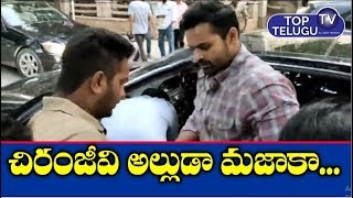 Hero Sai Dharam Tej Revealed Humanity For Helping Accident Person | Tollywood Films | Top Telugu TV