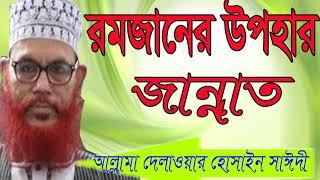 Best Bangla Waz Allama Delwar Hossain Saidy | Bangla Waz Mahfil 2019 | Islamic Waz By Allama Saidy