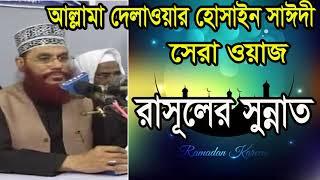 Islamic Waz Mahfil 2019 | Bangla Waz Allama Delwar Hossain Saidy | Allama Saidy Best Bangla Waz