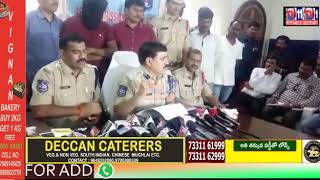 MURDER CASE MYSTERY OF SATISH DETECTED BY  KPHB POLICE STATION LIMITS DCP ADDRESSING MEDIA