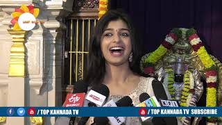 Aditi Prabhudeva About Bharaate Kannada Movie || Top Kannada TV