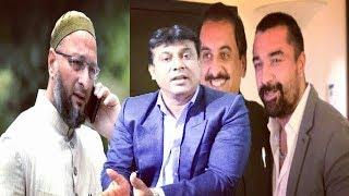 Ajaz Khan Meets MP Imtiyaz Jaleel | To Fight Election From Mumra Maharashtra |