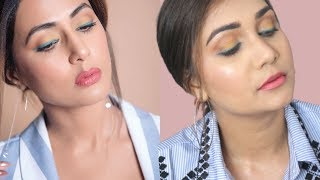 Hina Khan Inspired Makeup Look | Nidhi Katiyar