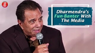 Pal Pal Dil Ke Paas: Dharmendra's Fun-Banter With The Media At The Trailer Launch