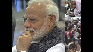 Watch: PM Modi at ISRO to watch soft landing of Vikram lander