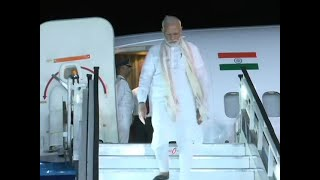 PM Modi reaches Bengaluru to witness Chandrayaan-2 landing