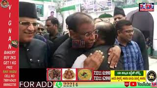 MOHARAM ALAM E MUBARAK PROCESSION ELEPHANT WHICH WILL BE CARRYING BIBI KA ALAM HAD REACHED HYDERABAD