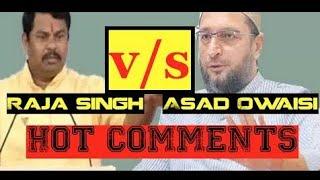 India Will Become   Hindu Rashtra   Raja Singh   BJP MLA   To Asaduddin Owaisi   BJP Vs MIM - DT
