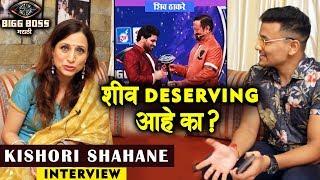 Kishori Shahane Exclusive Interview After Bigg Boss Marathi 2 | Shiv, Veena, Neha