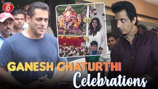 Ganesh Chaturthi: Salman Khan, Ekta Kapoor, Govinda, Sonu Sood Immerse In Bappa's Festivities