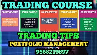 FOREX TRADING COURSES || TRADING SIGNALS || PORTFOLIO MANAGEMENT || HINDI VIDEO
