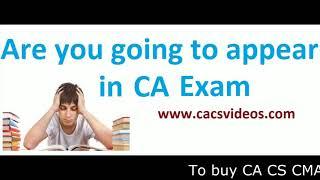 Mentoring program for CA CS CMA Students by Ravi Agarwal Sir