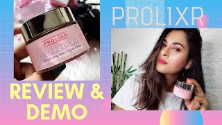 Prolixr Perfect Skin Detoxifying Face Mask Review|Instagram Viral Face Mask!