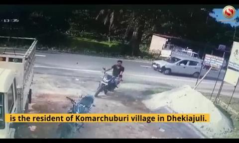 Watch CCTV Footage | Girl Struck by Car, Critically Injured, Shifted to TMCH