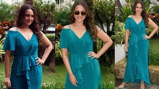 Sizzling Beauty Sonakshi Sinha Spotted At SUN AND SAND, JUHU