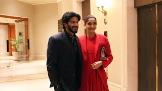 The Zoya Factor Movie Promotion | Sonam Kapoor And Dulquer Salmaan Spotted At JW Marriot