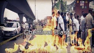 Chemical Blast AT Attapur Road | Ek Shaks Ki Muat | Commissioner At Spot | @ SACH NEWS |