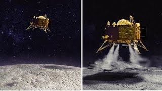 Chandrayaan 2 : इसरो- चांद पर सलामत है विक्रम लैंडर