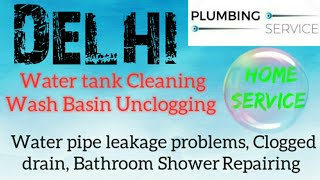 DELHI Plumbing Services | Plumber at your home|   Bathroom Shower Repairing | near me |in Building|