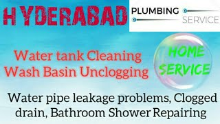 HYDERABAD Plumbing Services | Plumber at your home| Bathroom Shower Repairing |near me |in Building|